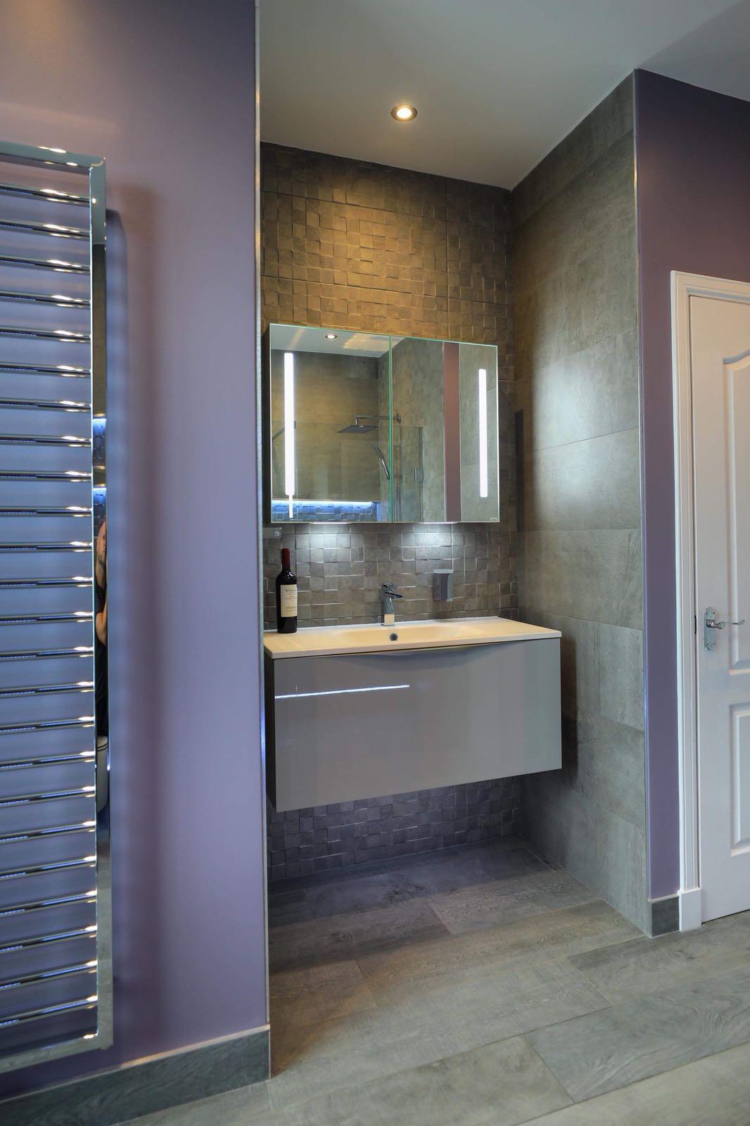 Edinburgh Bathroom Vanity unit in Cashmere
