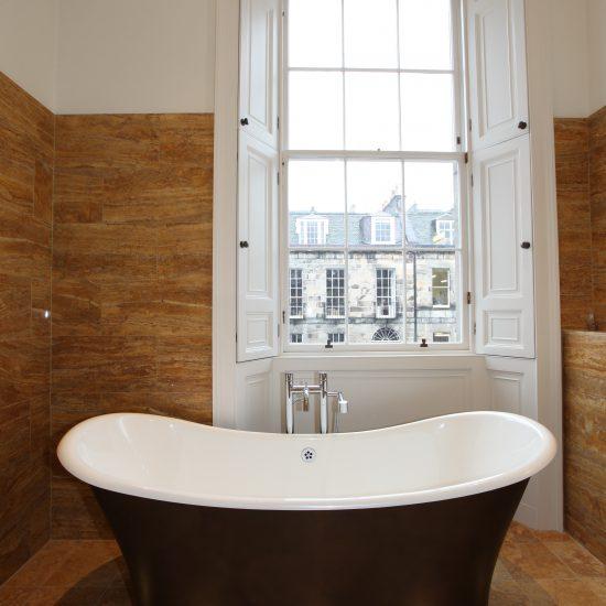 Albany Street Edinburgh Bathroom Design Install