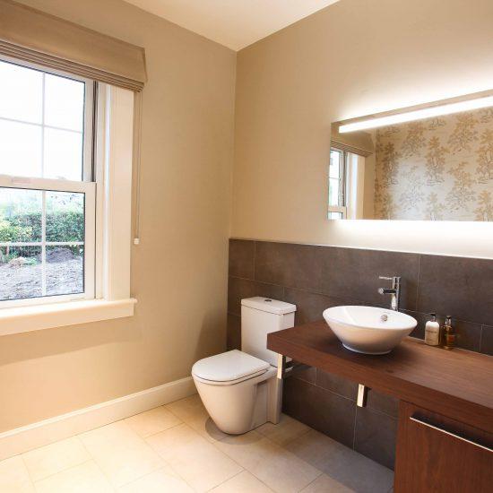 Barnton Park Bathroom Design with toilet bathroom specialist edinburgh